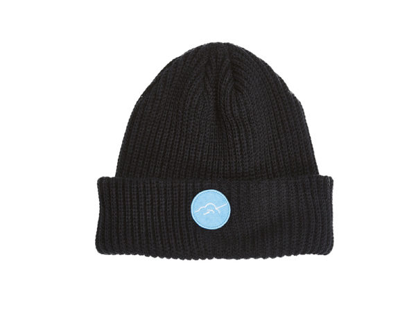 bballinthesky bonnet noir sky beanie
